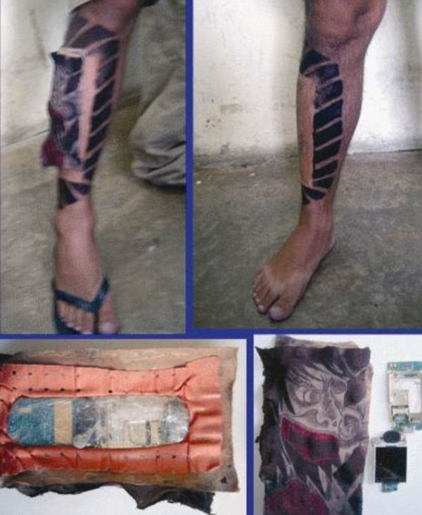 Creative Ways of Smuggling Mobile Phones into Brazil's Jails