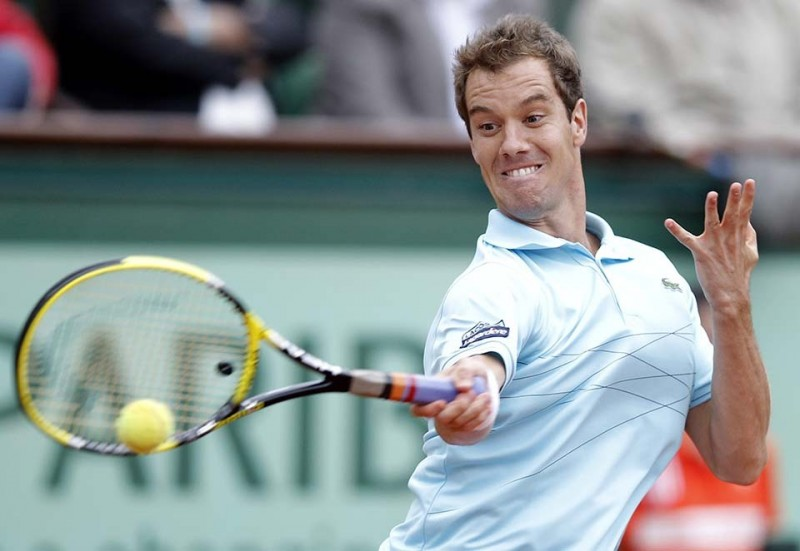 Funny faces from tennis tournament Roland Garros 2012, part 2012