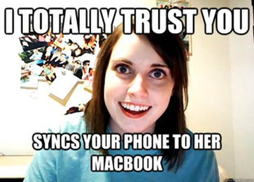 Overly Attached Girlfriend Meme