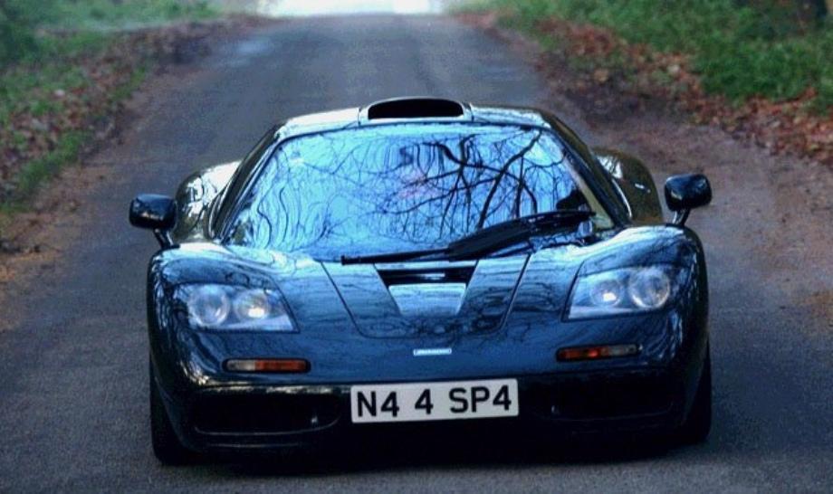 1994 mclaren f1 vs new mp4-12c | vehicles