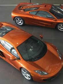 1994 McLaren F1 vs New MP4-12C