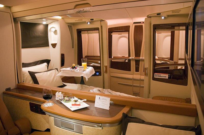 Singapore Airlines' Private Suites