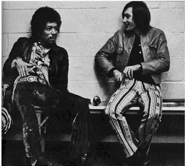 Hanging out with Jimi Hendrix