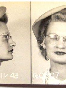 Vintage Bad Girl Mugshots