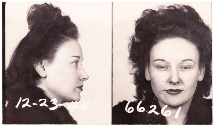 Vintage Bad Girl Mugshots