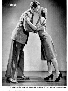 1942 Life Magazine Teaches You How to Kiss