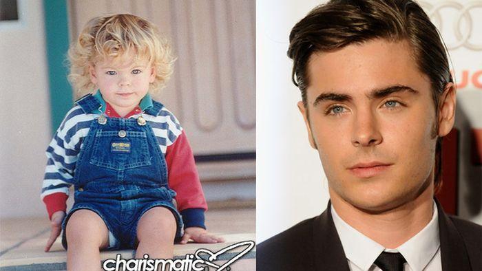 Childhood Photos of Male Celebrities