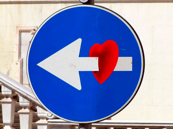 Cool Road Signs by Clet Abraham