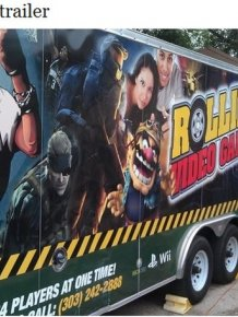 Rolling Video Games Truck
