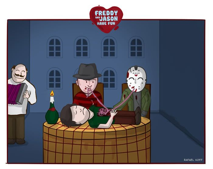 Freddy and Jason Have Fun