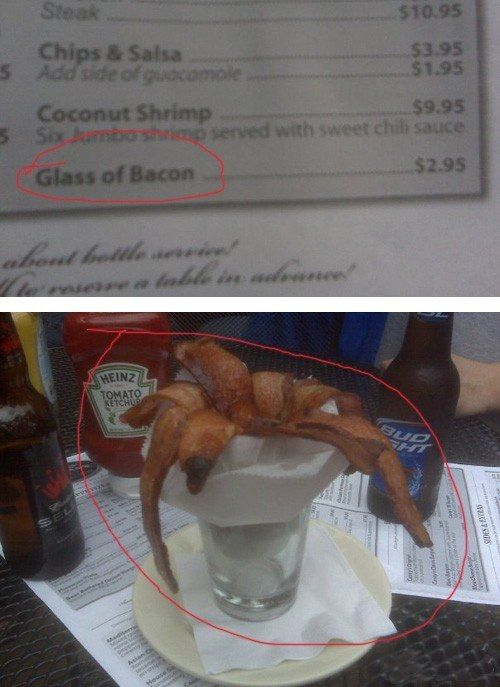 Eating Bacon In Creative Ways