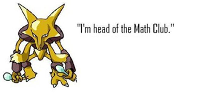 Pokemon Identified Using High-School Stereotypes