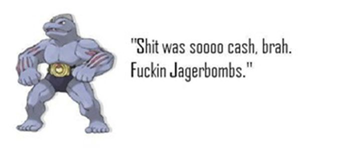 Pokemon Identified Using High-School Stereotypes