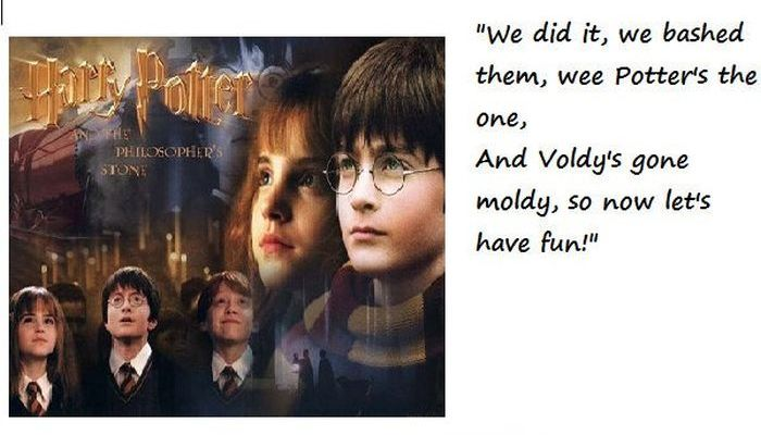 Tribute to Harry Potter