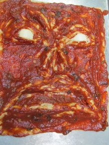 Necronomicon Pizza