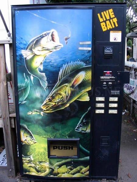 Bizarre Vending Machines