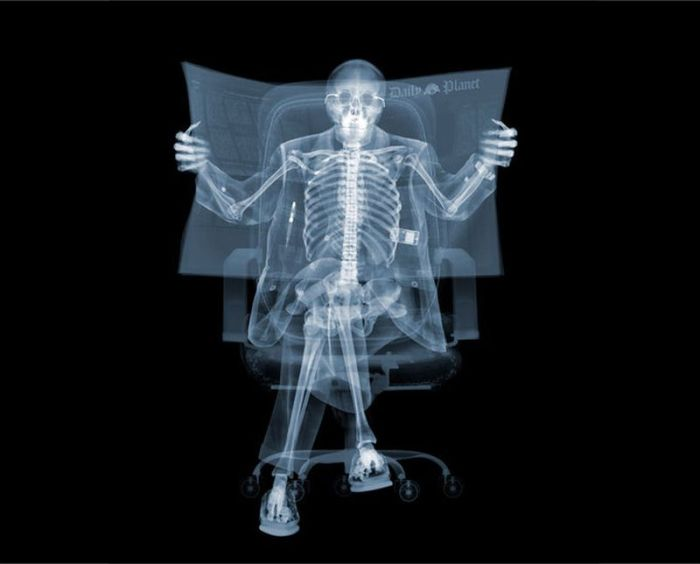 X ray by nick veasey art for X ray painting