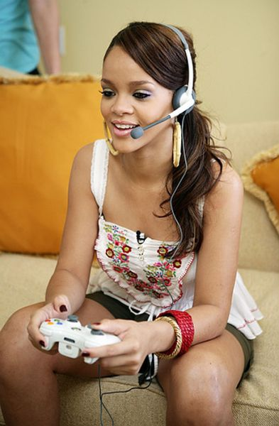 Pretty Girls Playing Video Games