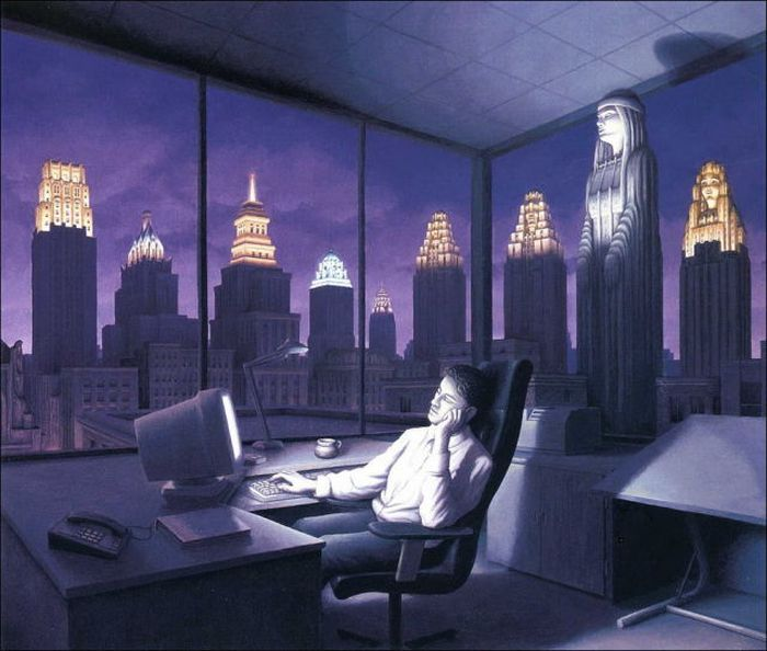 Amazing Surrealistic Paintings by Rob Gonsalves