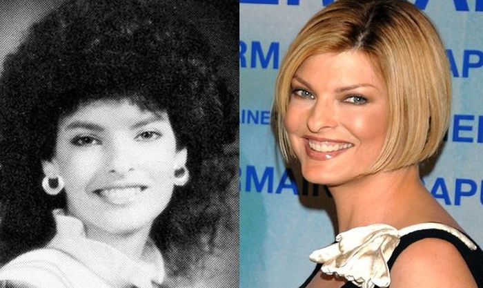 Supermodel Yearbook Photos