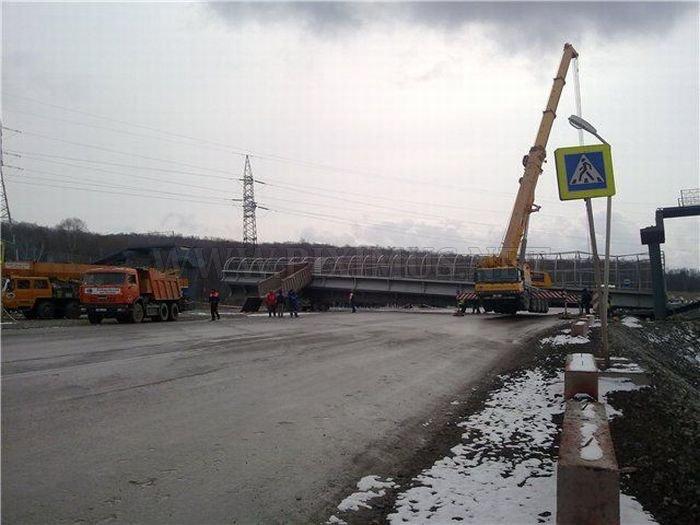 Truck vs Bridge