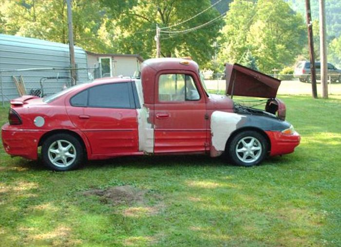 Coupe Meets Truck