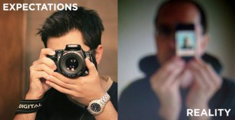Expectations VS Reality: Cell Phone Pictures
