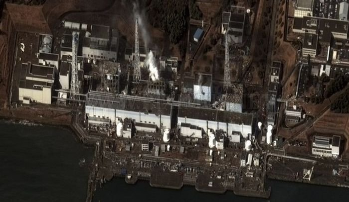 Damaged Fukushima Dai-ichi Nuclear Power Plant
