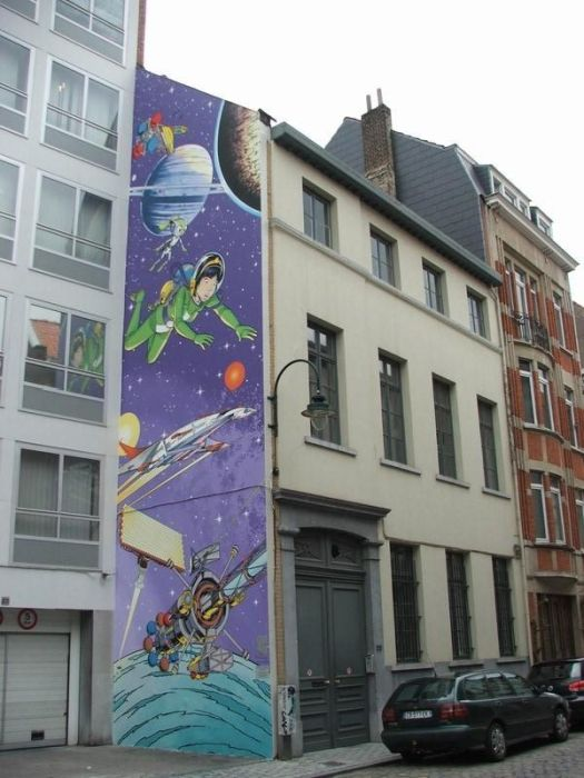 Wall Art in Belgium