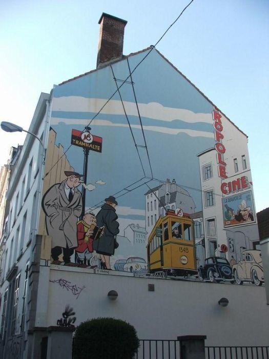 Wall Art in Belgium