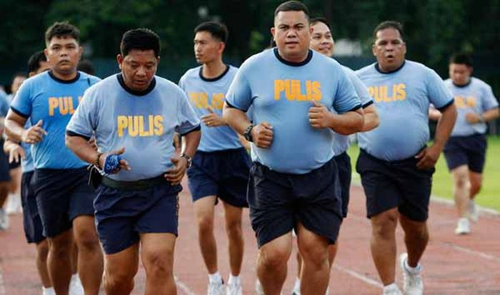 Philippine Police Fitness Boot Camp