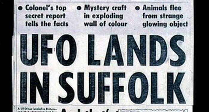 Famous UFO Sightings