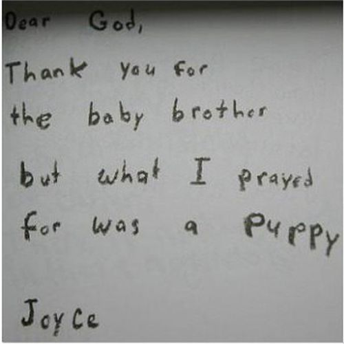 Kids Were Asked to Write Their Prayers
