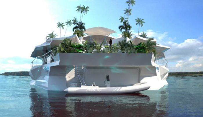 Orsos Islands - Moveable Floating Island