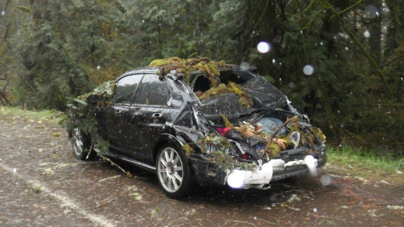 Modified Subaru Saves Lives in Windstorm