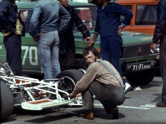 Soviet-era race cars