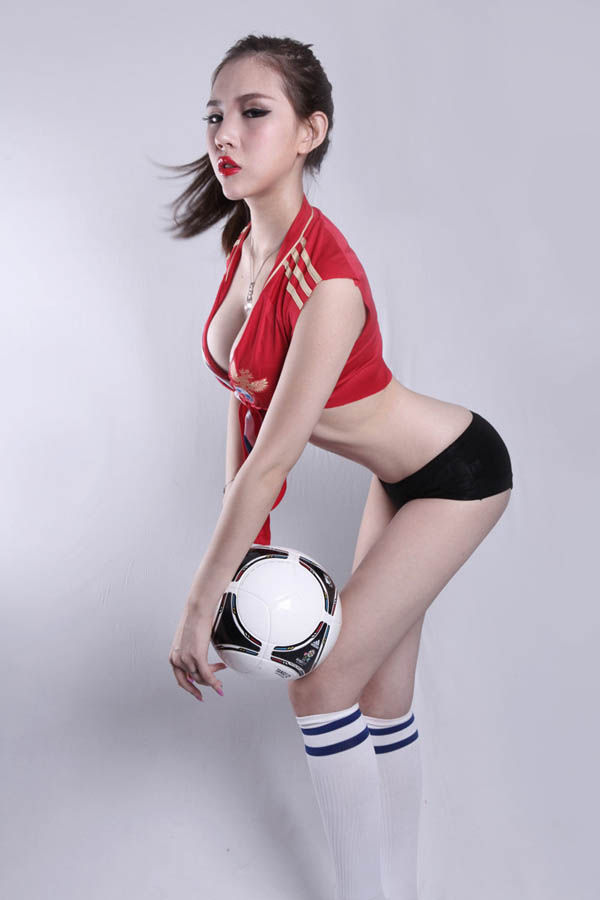 Chinese Soccer Girls