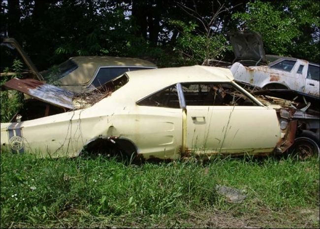 Abandoned Cars, part 2