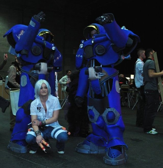 Awesome StarCraft 2 and Diablo III Cosplay