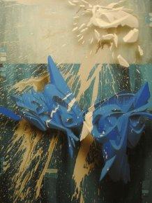 Stunning Three Dimensional Graffiti Art