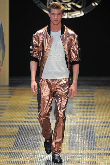 Versace S/S 2013 Collection at Milan Fashion Week