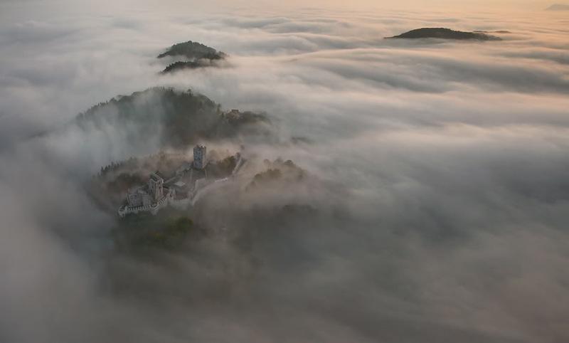 Slovenia from bird's-eye view