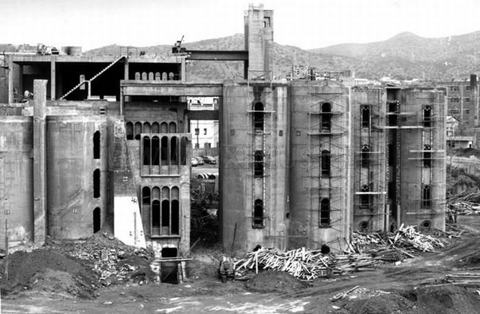 House Inside an Old Cement Plant