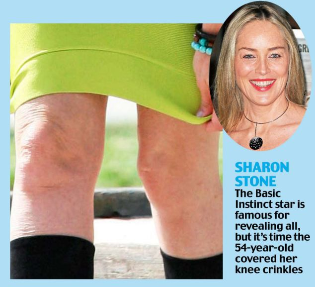 Saggy Knees Show Celebs True Age