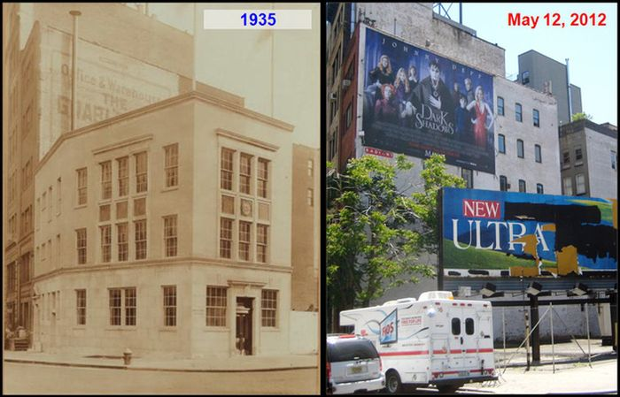 NYC Corners Then And Now