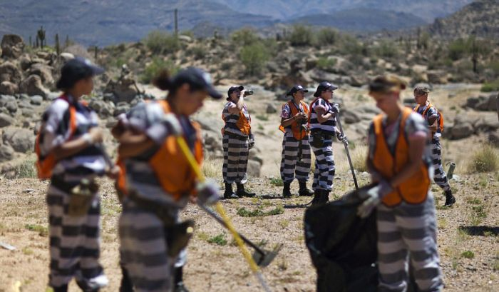 America's Only All-female Chain Gang in Arizona