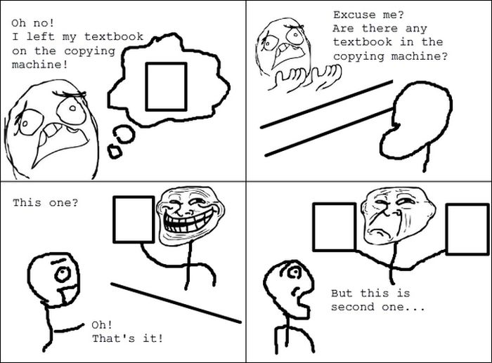 Rage Comics Made By Japanese College Students