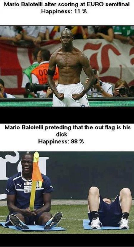 Photoshopped Pictures of Mario Balotelli