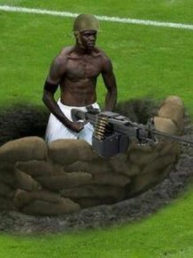 Photoshopped Pictures of Mario Balotelli