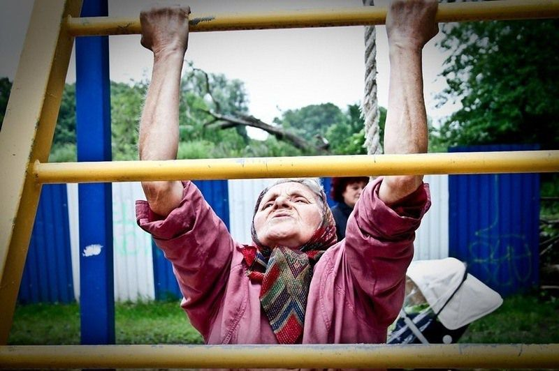 Grandma's Street Workouts